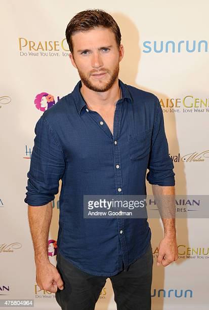 Actor Scott Eastwood receives the 2015 Maui Film Festival Rising Star Award at the 2015 Maui Film Festival at Grand Wailea on June 3 2015 in Wailea...