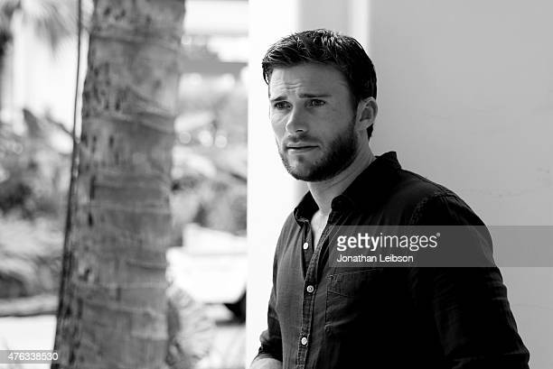 Actor Scott Eastwood recipient of The Maui Film Festival Rising Star Award poses for a portrait at the Taste of Summer Opening Night Party during the...