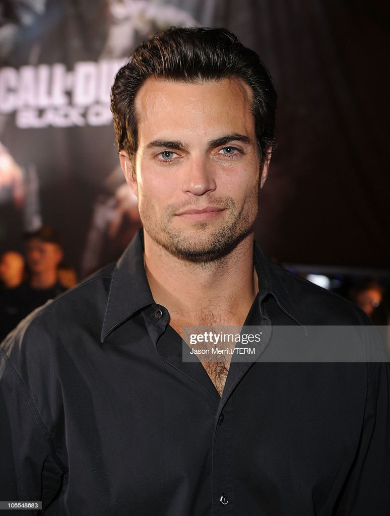 Actor <a gi-track='captionPersonalityLinkClicked' href=/galleries/search?phrase=Scott+Elrod&family=editorial&specificpeople=2217407 ng-click='$event.stopPropagation()'>Scott Elrod</a> arrives at the Call Of Duty: Black Ops Launch Party held at Barker Hangar on November 4, 2010 in Santa Monica, California.