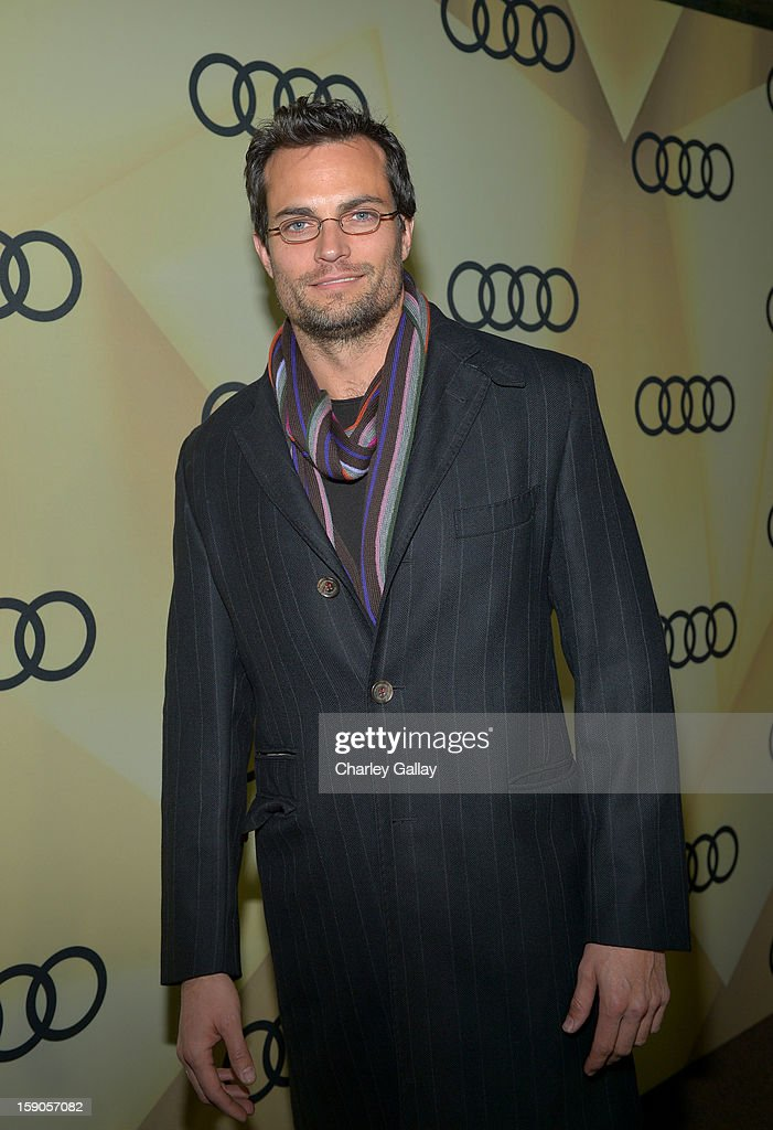 Actor Scott Elrod attends the Audi Golden Globes Kick Off 2013 at Cecconi's Restaurant on January 6, 2013 in Los Angeles, California.