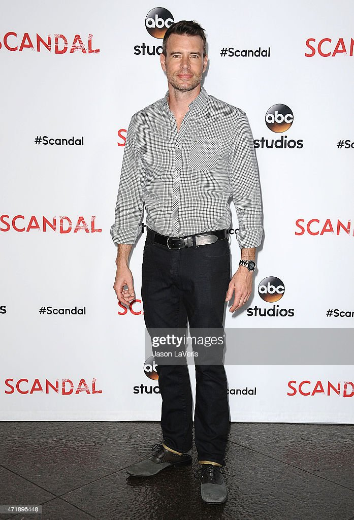 Actor Scott Foley attends the 'Scandal' ATAS event at Directors Guild Of America on May 1 2015 in Los Angeles California