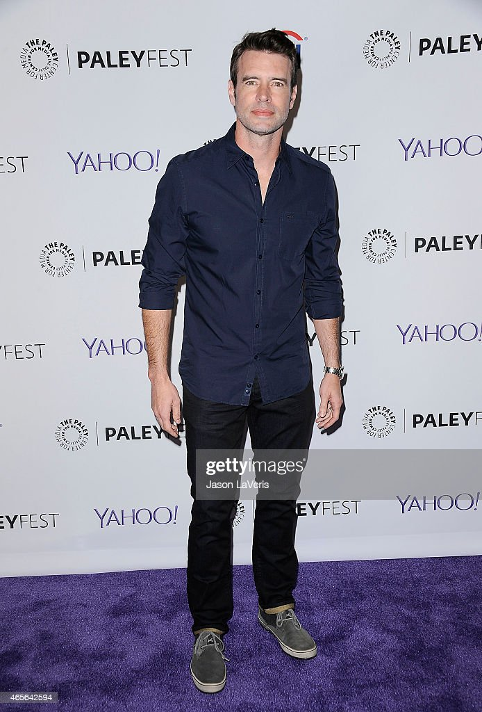 Actor Scott Foley attends the 'Scandal' event at the 32nd annual PaleyFest at Dolby Theatre on March 8 2015 in Hollywood California
