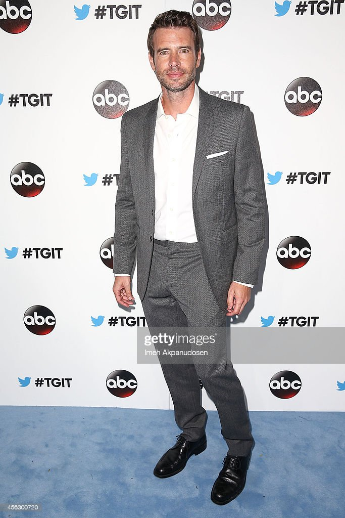 Actor Scott Foley attends the TGIT Premiere event at Palihouse on September 20 2014 in West Hollywood California