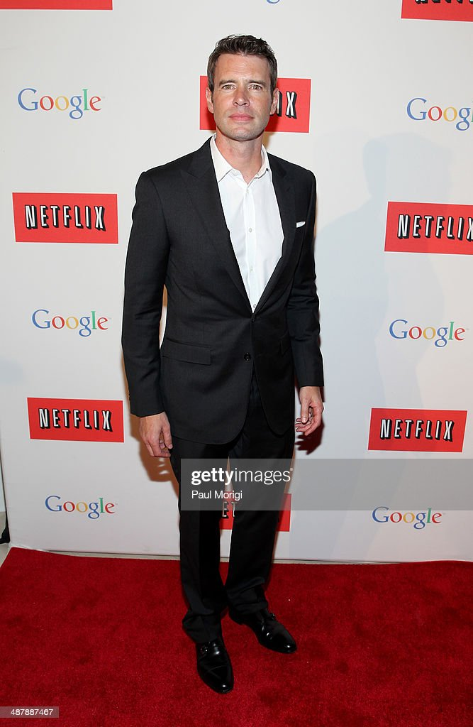 Actor Scott Foley walks the red carpet at Google/Netflix White House Correspondent's Weekend Party at United States Institute of Peace on Friday May...