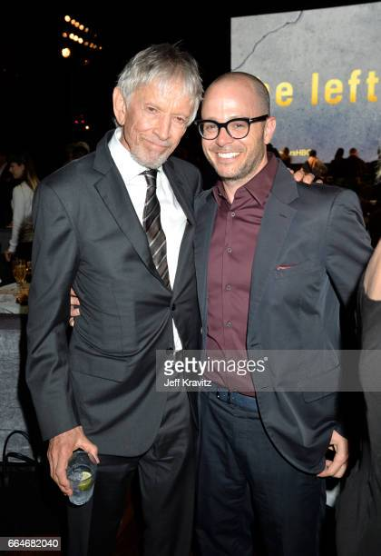 Actor Scott Glenn and Showrunner Damon Lindelof attend HBO's 'The Leftovers' season 3 premiere and after party at Avalon Hollywood on April 4 2017 in...