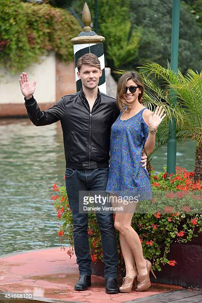 Actor Scott Haze and Elissa Shay are seen during the 71st Venice International Film Festival on September 5 2014 in Venice Italy