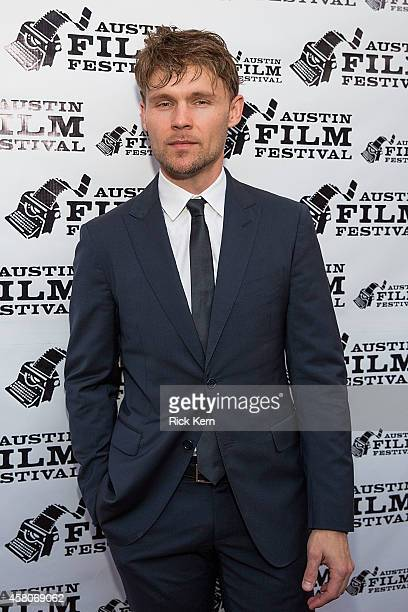 Actor Scott Haze arrives at the premiere of 'The Sound and the Fury' during the Austin Film Festival at The Paramount Theatre on October 29 2014 in...