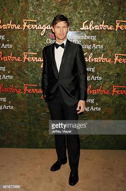 Actor Scott Haze arrives at the Wallis Annenberg Center For The Performing Arts Inaugural Gala at Wallis Annenberg Center for the Performing Arts on...