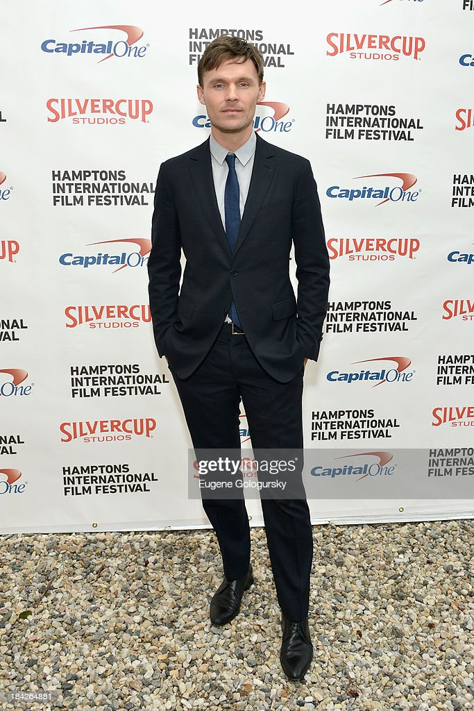 Actor Scott Haze attends the 21st Annual Hamptons International Film Festival on October 12, 2013 in East Hampton, New York.