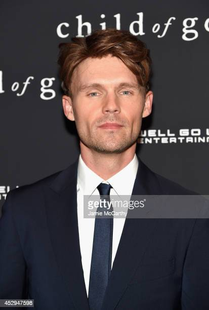 Actor Scott Haze attends the 'Child Of God' premiere at Tribeca Grand Hotel on July 30 2014 in New York City