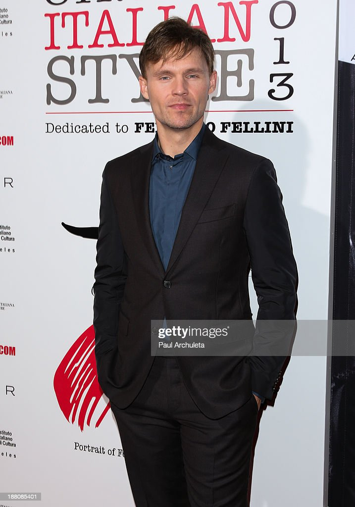 Actor Scott Haze attends the premiere of 'The Great Beauty' at the Cinema Italian Style 2013 Opening Night at the Egyptian Theatre on November 14, 2013 in Hollywood, California.