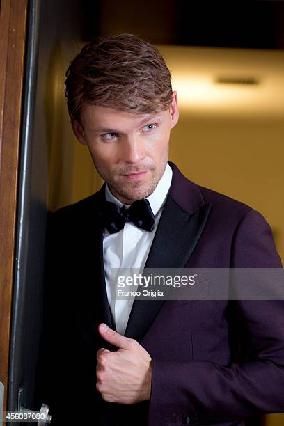 Actor Scott Haze is photographed on September 5 2014 in Venice Italy