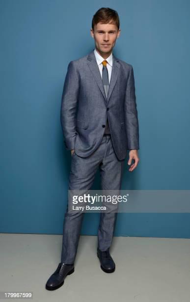 Actor Scott Haze of 'Child Of God' poses at the Guess Portrait Studio during 2013 Toronto International Film Festival on September 7 2013 in Toronto...