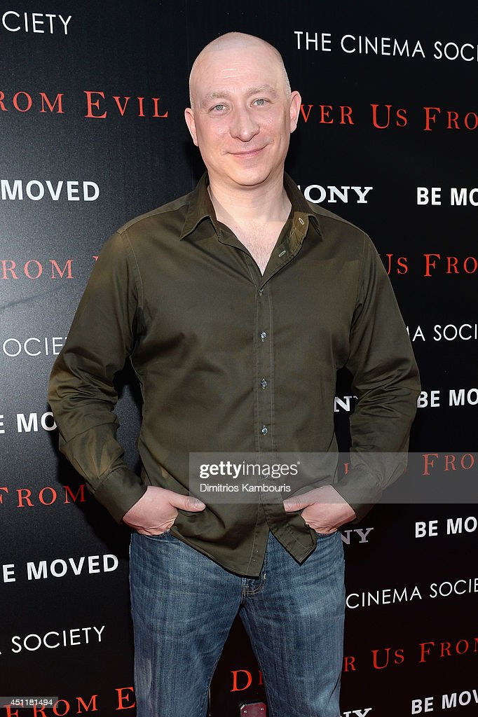 Actor Scott Johnsen attends the 'Deliver Us From Evil' screening hosted by Screen Gems & Jerry Bruckheimer Films with The Cinema Society at SVA Theater on June 24, 2014 in New York City.