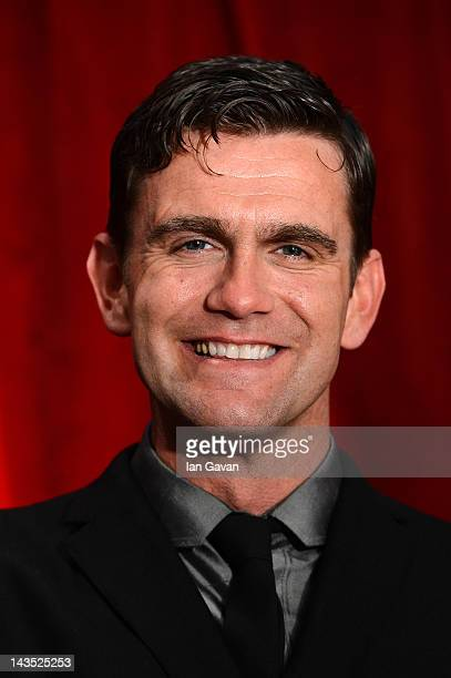 Actor Scott Maslen attends The 2012 British Soap Awards at ITV Studios on April 28 2012 in London England
