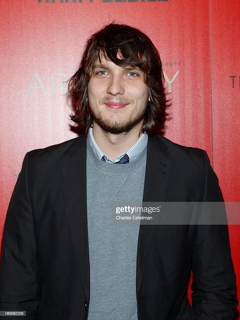 Actor <a gi-track='captionPersonalityLinkClicked' href=/galleries/search?phrase=Scott+Michael+Foster+-+Actor&family=editorial&specificpeople=4432366 ng-click='$event.stopPropagation()'>Scott Michael Foster</a> attends The Cinema Society & Artistry Screening Of 'Warm Bodies' at Landmark Sunshine Cinema on January 25, 2013 in New York City.
