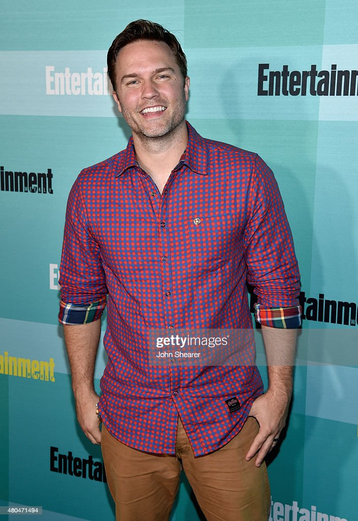 Actor Scott Porter attends Entertainment Weekly's Comic-Con 2015 Party sponsored by HBO, Honda, Bud Light Lime and Bud Light Ritas at FLOAT at The Hard Rock Hotel on July 11, 2015 in San Diego, California.