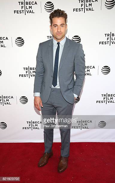 Actor Scott Speedman at Series Premiere of TNT's New Original Drama 'Animal Kingdom' during Tribeca Film Festval at SVA Theatre 1 on April 17 2016 in...