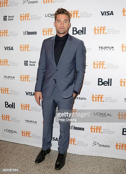 Actor Scott Speedman attends the 'October Gale' premiere during the 2014 Toronto International Film Festival at Winter Garden Theatre on September 11...