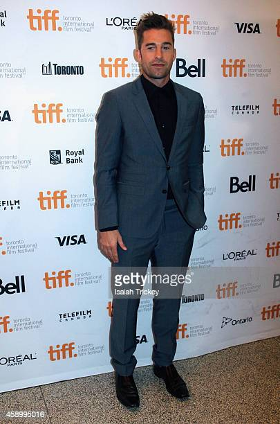 Actor Scott Speedman attends the 'October Gale' premiere during the Toronto International Film Festival at Winter Garden Theatre on September 11 2014...
