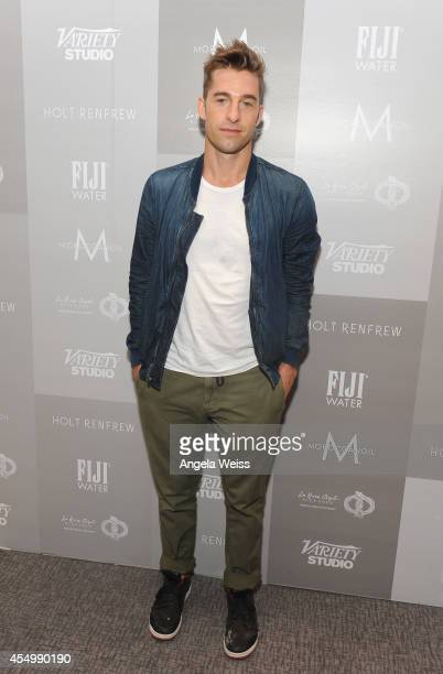 Actor Scott Speedman attends the Variety Studio presented by Moroccanoil at Holt Renfrew during the 2014 Toronto International Film Festival on...