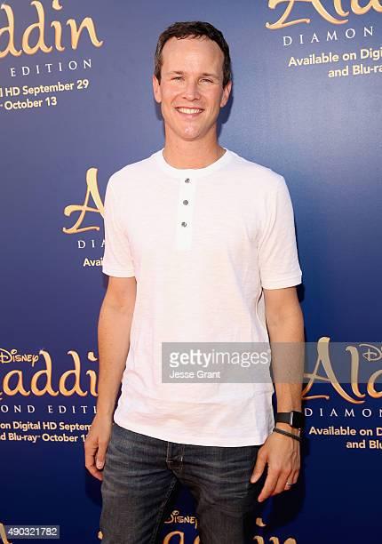 Actor Scott Weinger attends a special LA screening celebrating Diamond Edition release of 'ALADDIN' at The Walt Disney Studios on September 27 2015...
