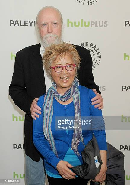 Actor Scott Wilson and wife Heavenly Koh arrive at the 30th Annual PaleyFest The William S Paley Television Festival featuring 'The Walking Dead' at...