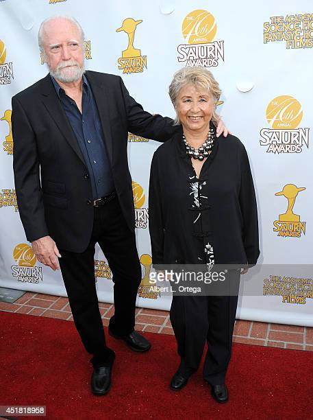 Actor Scott Wilson and wife Heavenly Wilson arrive for the 40th Annual Saturn Awards held at The Castaway on June 26 2014 in Burbank California