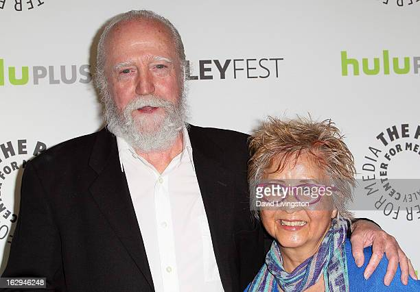 Actor Scott Wilson and wife Heavenly Wilson attend The Paley Center for Media's PaleyFest 2013 honoring 'The Walking Dead' at the Saban Theatre on...