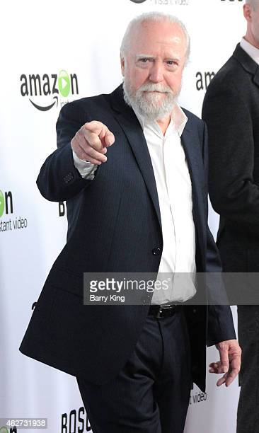 Actor Scott Wilson arrives at screening of Amazon's 1st Original Drama Series 'Bosch' at The Dome at Arclight Hollywood on February 3 2015 in...