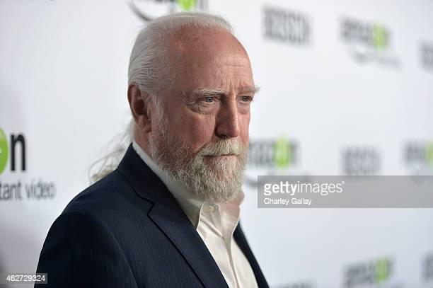 Actor Scott Wilson arrives for the red carpet premiere screening for Amazon's first original drama series 'Bosch' at ArcLight Cinemas Cinerama Dome...