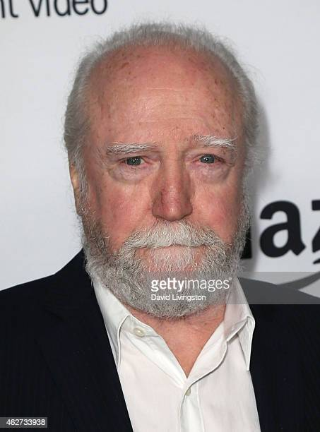 Actor Scott Wilson attends a screening of Amazon's 1st original drama series 'Bosch' at The Dome at Arclight Hollywood on February 3 2015 in...