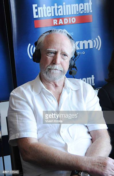 Actor Scott Wilson attends SiriusXM's Entertainment Weekly Radio Channel Broadcasts From ComicCon 2015 at Hard Rock Hotel San Diego on July 9 2015 in...