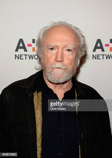 Actor Scott Wilson attends the AE Networks 2016 Television Critics Association Press Tour for Damien at The Langham Huntington Hotel and Spa on...