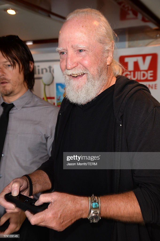 Actor Scott Wilson attends the Nintendo Oasis on the TV Guide Magazine Yacht at Comic-Con day 3 on July 20, 2013 in San Diego, California.