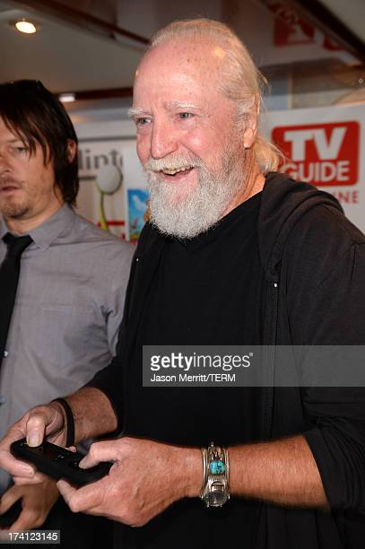 Actor Scott Wilson attends the Nintendo Oasis on the TV Guide Magazine Yacht at ComicCon day 3 on July 20 2013 in San Diego California