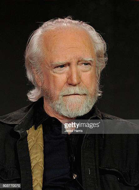Actor Scott Wilson attends the panel for Damien duirng AE Networks 2016 Television Critics Association Press Tour at The Langham Huntington Hotel and...