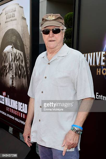 Actor Scott Wilson attends the press event for 'The Walking Dead' attraction 'Don't Open Dead Inside' at Universal Studios Hollywood on June 28 2016...