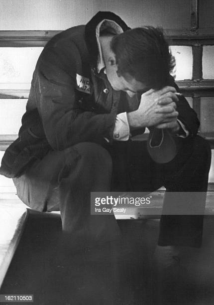 MAY 1 1966 MAY 3 1967 Actor Scott Wilson playing murderer Richard Hickock prepares for a dramatic encounter with his 'mother' during visiting hours...
