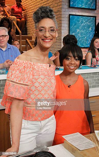THE CHEW 6/8/16 Actor Scott Wolf and Skai Jackson appear on THE CHEW airing MONDAY FRIDAY on the ABC Television Network JACKSON