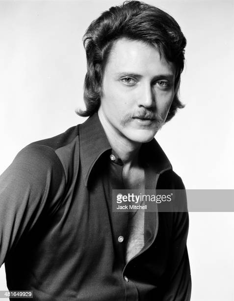 Actor screenwriter and director Christopher Walken photographed in 1973