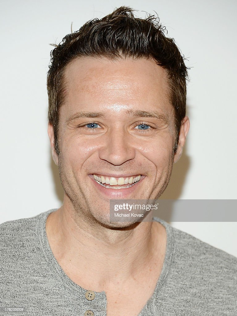 Actor Seamus Dever attends the NKLA Pet Adoption Center Opening Celebration at the NKLA Pet Adoption Center on August 11, 2013 in Los Angeles, California.
