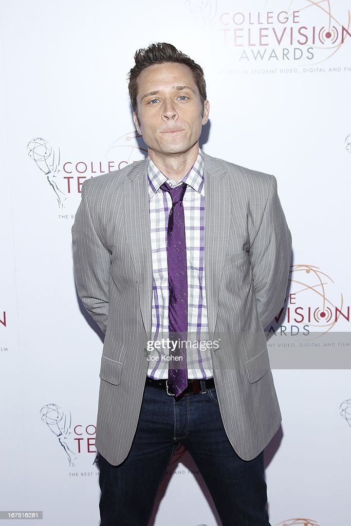 Actor <a gi-track='captionPersonalityLinkClicked' href=/galleries/search?phrase=Seamus+Dever&family=editorial&specificpeople=5714222 ng-click='$event.stopPropagation()'>Seamus Dever</a> Bergeron attends the 34th College Television Awards Gala at JW Marriott Los Angeles at L.A. LIVE on April 25, 2013 in Los Angeles, California.