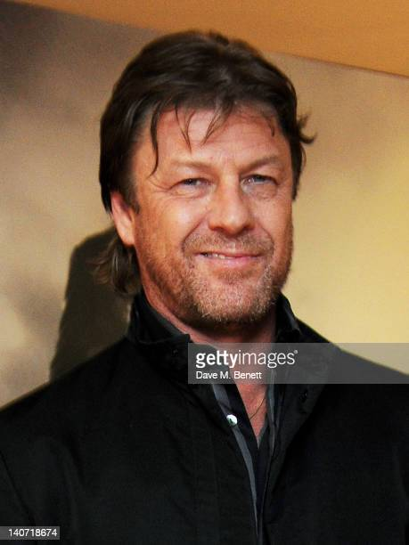 Actor Sean Bean arrives at a special screening of 'Cleanskin' at The Mayfair Hotel on March 5 2012 in London England