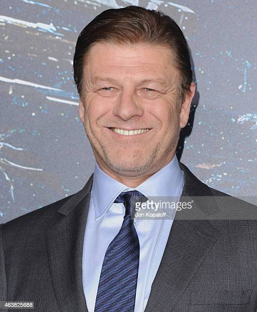 Actor Sean Bean arrives at the Los Angeles Premiere 'Jupiter Ascending' at TCL Chinese Theatre on February 2 2015 in Hollywood California