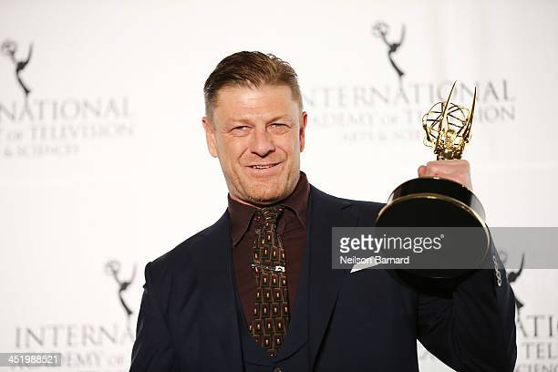 Actor Sean Bean attends the 41st International Emmy Awards at the Hilton New York on November 25 2013 in New York City