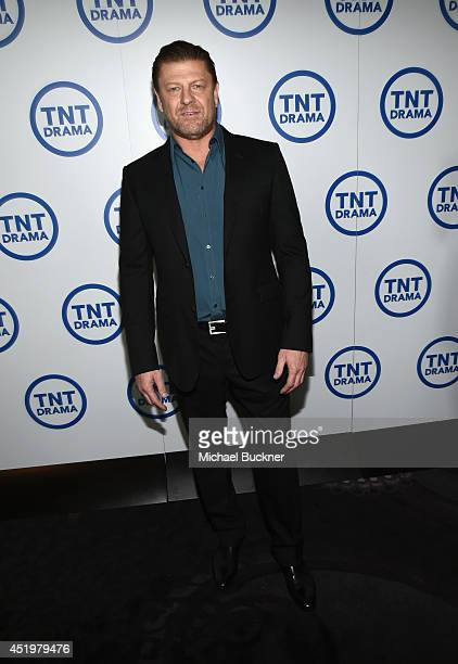Actor Sean Bean attends the 'Legends' portion of the 2014 TCA Turner Broadcasting Summer Press Tour Presentation at The Beverly Hilton on July 10...
