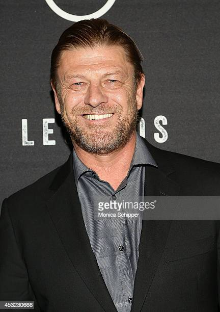 Actor Sean Bean attends the 'Legends' Series Premiere at Tribeca Grand Screening Room on August 5 2014 in New York City