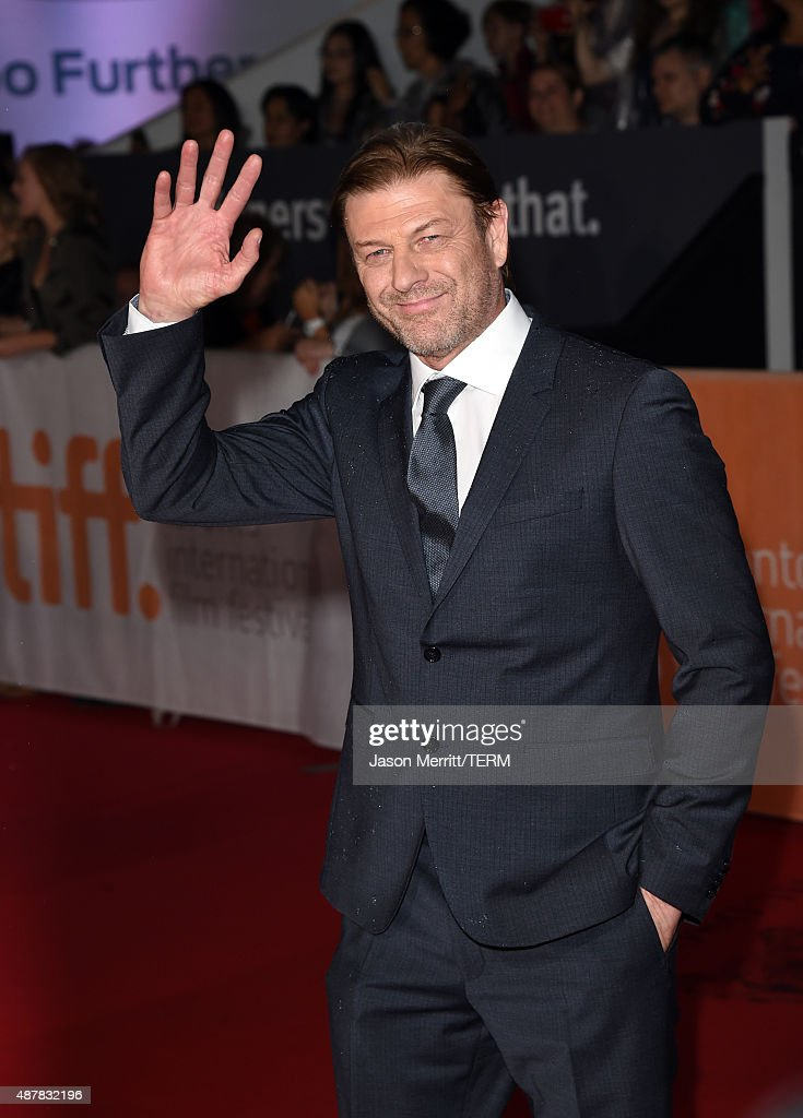Actor Sean Bean attends 'The Martian' premiere during the 2015 Toronto International Film Festival at Roy Thomson Hall on September 11, 2015 in Toronto, Canada.