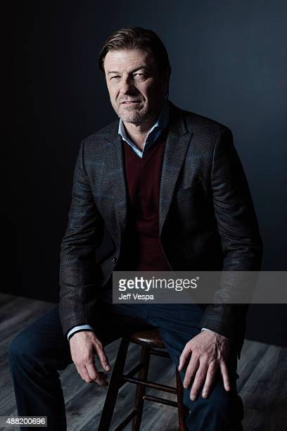 Actor Sean Bean of 'The Martian' poses for a portrait at the 2015 Toronto Film Festival at the TIFF Bell Lightbox on September 11 2015 in Toronto...